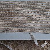 Материалы для творчества ручной работы. Ярмарка Мастеров - ручная работа Винтажная тесьма для шитья. Handmade.