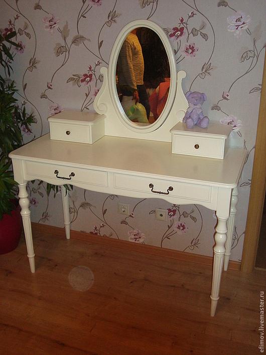 Мебель ручной работы. Ярмарка Мастеров - ручная работа. Купить Консоль Мария. Handmade. Белый, прованс, краска