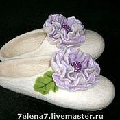 """Обувь ручной работы. Ярмарка Мастеров - ручная работа Тапочки """"Принцесса"""". Handmade."""