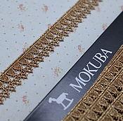 Металлизированная тесьма Mokuba(61712), 16мм