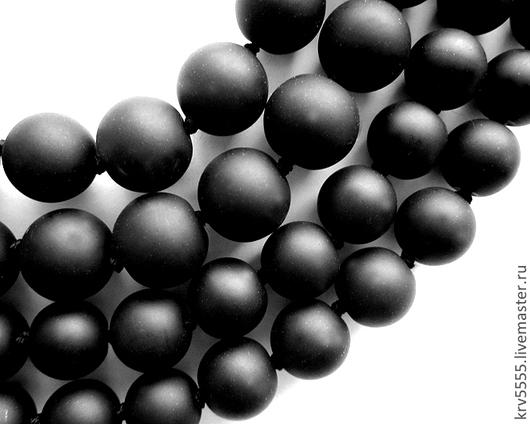Для украшений ручной работы. Ярмарка Мастеров - ручная работа. Купить Шунгит матовый шар 4 , 6 , 8 , 10 ,12 , 14 мм. Handmade.