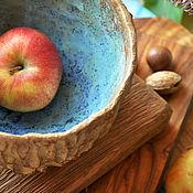 """Посуда ручной работы. Ярмарка Мастеров - ручная работа Чаша для фруктов  """"Лесной колодец"""". Handmade."""