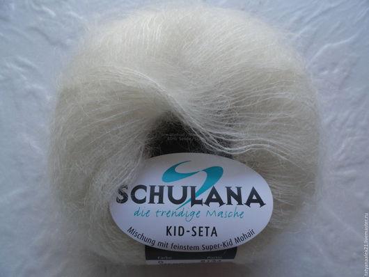 Вязание ручной работы. Ярмарка Мастеров - ручная работа. Купить Пряжа Schulana Kid-Seta № 0. Handmade.