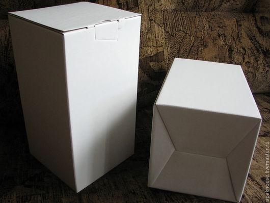 Упаковка ручной работы. Ярмарка Мастеров - ручная работа. Купить гофрокоробка вертикальная. Handmade. Простая упаковка, гофрокартон