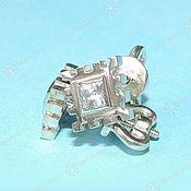 Русский стиль handmade. Livemaster - original item Earrings, Pusey Agrimony Happiness (jewel). Handmade.