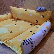 Для домашних животных, ручной работы. Ярмарка Мастеров - ручная работа Кошкин дом с мышкой. Handmade.