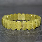 Украшения handmade. Livemaster - original item Natural Hilerite (Healerite) Cut Bracelet. Handmade.