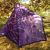 Аксессуары handmade. Livemaster - original item Stole felted lavender-purple. Handmade.