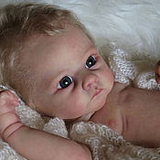 Куклы и игрушки ручной работы. Ярмарка Мастеров - ручная работа кукла реборн Андрюшка. Handmade.
