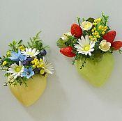Подарки к праздникам ручной работы. Ярмарка Мастеров - ручная работа Магниты на холодильник. Handmade.