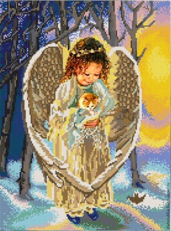 Добрый ангел.Набор для вышивки