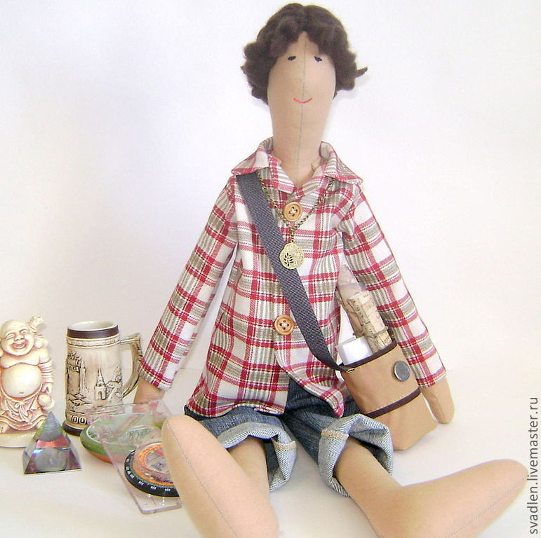 """""""В поисках истины"""" - кукла портретная для интерьера, Мягкие игрушки, Брянск,  Фото №1"""