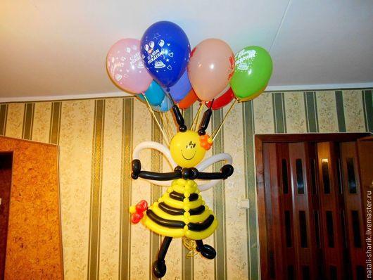 Пчелка порадует Вашего ребенка в День рождения! Рекомендована также в качестве подарка для  девушки или женщины к празднику .