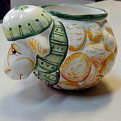Посуда handmade. Livemaster - original item Ceramic glass