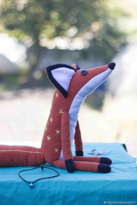 """Лис из мульта """"Маленький принц"""", Мягкие игрушки, Липецк,  Фото №1"""