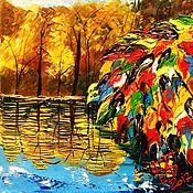 Картины и панно ручной работы. Ярмарка Мастеров - ручная работа Осень пришла. Handmade.