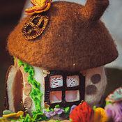 Куклы и игрушки ручной работы. Ярмарка Мастеров - ручная работа Домик для кукольного театра. Handmade.