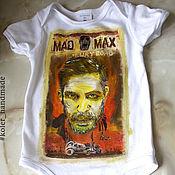 Работы для детей, handmade. Livemaster - original item Bodysuit children`s c pattern Mad Max Mad max Fury Road. Handmade.