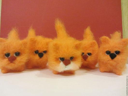 Игрушки животные, ручной работы. Ярмарка Мастеров - ручная работа. Купить мандаринки и не только.......( для Елены). Handmade. Оранжевый, подарок