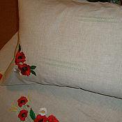 Для дома и интерьера ручной работы. Ярмарка Мастеров - ручная работа Постельное белье. Handmade.