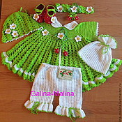 Одежда детская handmade. Livemaster - original item Set