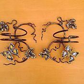 Цветы и флористика ручной работы. Ярмарка Мастеров - ручная работа Подставка настенная. Handmade.