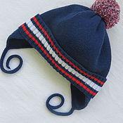 Работы для детей, ручной работы. Ярмарка Мастеров - ручная работа осенняя шапочка для мальчика. Handmade.