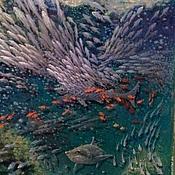 Картины и панно handmade. Livemaster - original item Copyright 3D picture of the sovereign of the seas. Handmade.
