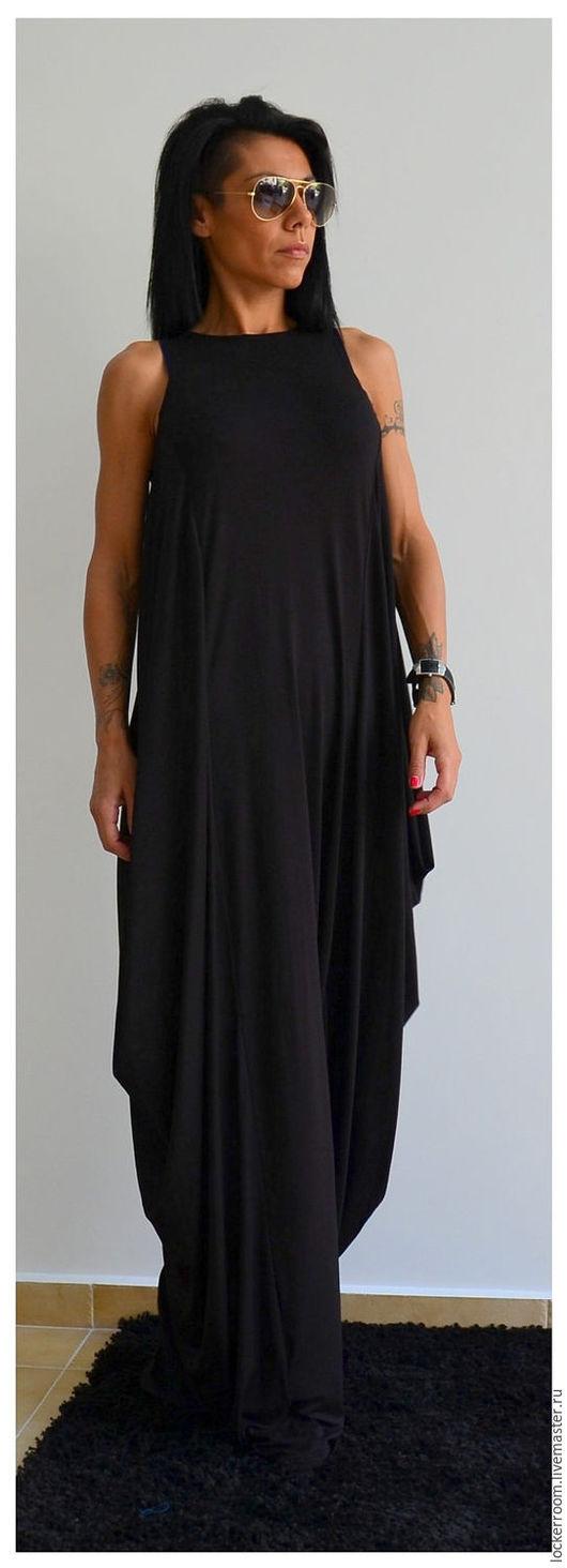 Платья ручной работы. Ярмарка Мастеров - ручная работа. Купить Длинное Платье Maxi Dress. Handmade. Женское платье