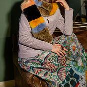 Одежда ручной работы. Ярмарка Мастеров - ручная работа Шелковая юбка Климт. Handmade.