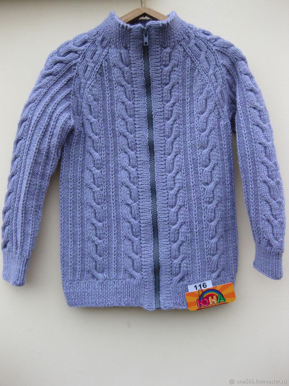 Одежда для мальчиков, ручной работы. Ярмарка Мастеров - ручная работа. Купить Джемпер на рост 116см (шерсть 100%). Handmade.