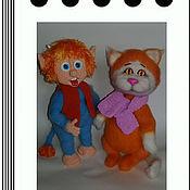 Куклы и игрушки ручной работы. Ярмарка Мастеров - ручная работа Рыжие шкодики. Handmade.