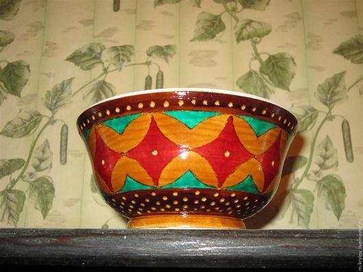 Пиалы ручной работы. Ярмарка Мастеров - ручная работа. Купить Пиала деревянная в восточном стиле.. Handmade. Разноцветный, экостиль