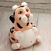Сувениры и подарки handmade. Livemaster - original item Tiger bell. Symbol 2022.. Handmade.