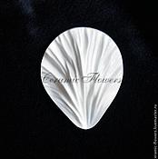 Материалы для творчества handmade. Livemaster - original item The texture of the petal of hibiscus. Handmade.