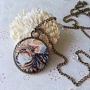 Украшения handmade. Livemaster - original item Round Pendant / Medallion Seal. Handmade.