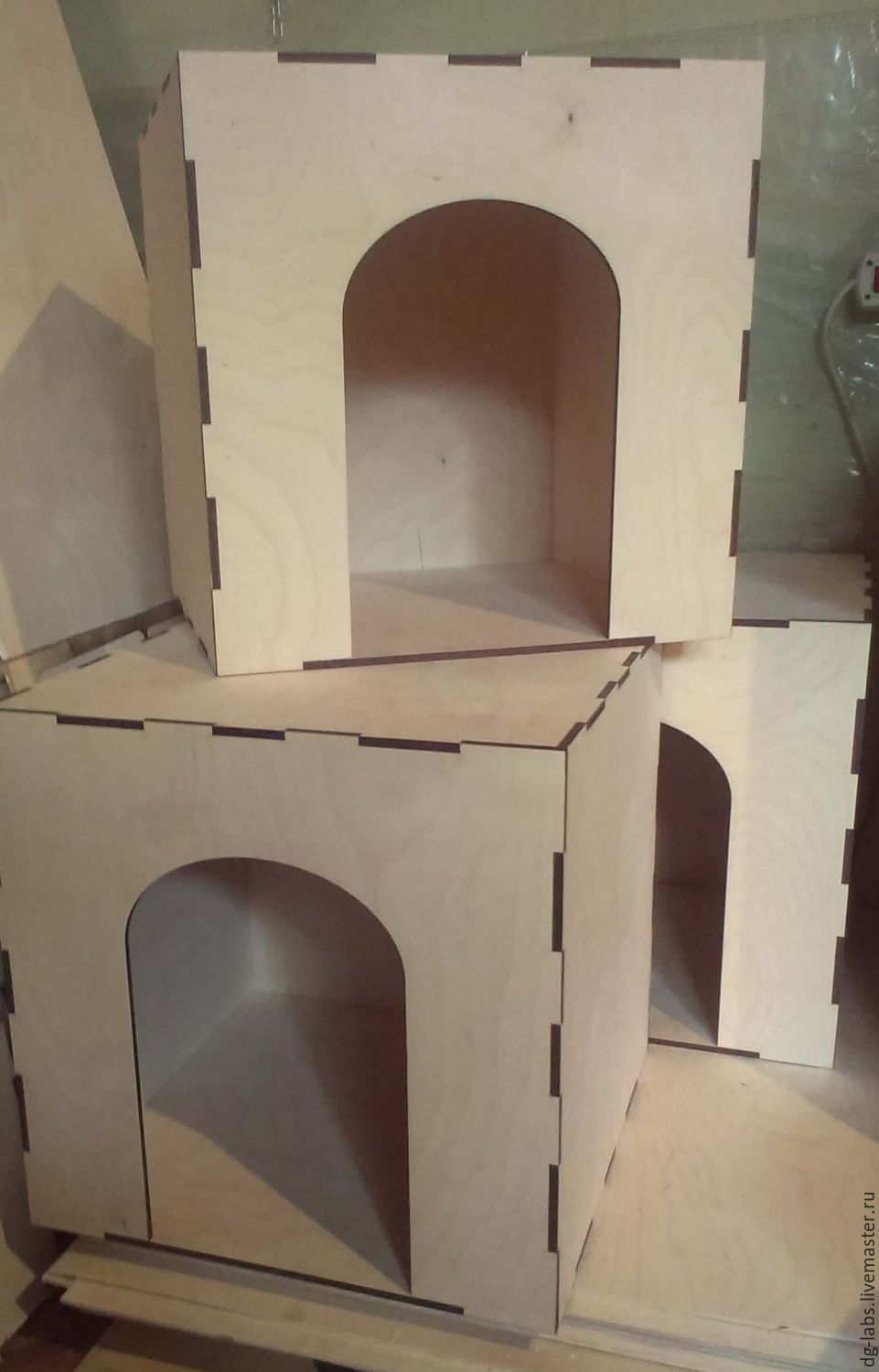 The box house for cats, Pet House, Moscow,  Фото №1