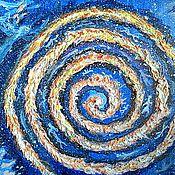 Картины и панно ручной работы. Ярмарка Мастеров - ручная работа Спираль времени. Handmade.