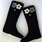 Обувь ручной работы. Ярмарка Мастеров - ручная работа Зимние сапоги. Handmade.