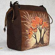 Сумки и аксессуары handmade. Livemaster - original item Bag with embroidery