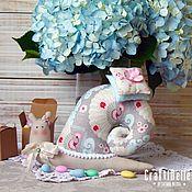 Куклы и игрушки handmade. Livemaster - original item Tilda snail. Handmade.