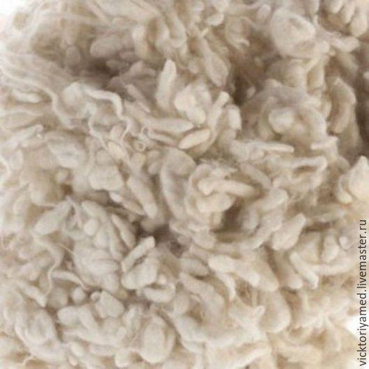 Валяние ручной работы. Ярмарка Мастеров - ручная работа. Купить Непсы шерстяные -10 гр натуральный белый. Handmade. Белый