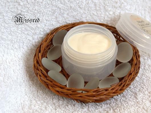Cream, Gel & Serum handmade. Livemaster - handmade. Buy Face cream matting 'Lavender and Lily'.Face cream