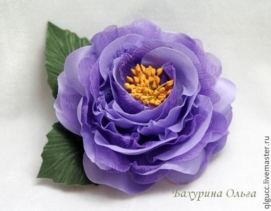 Броши ручной работы. Ярмарка Мастеров - ручная работа. Купить Роза Кэтти(различные цвета). Handmade. Разноцветный, брошь цветок, роза
