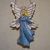 """Для дома и интерьера ручной работы. Ярмарка Мастеров - ручная работа Подвеска """"Ангел-3"""". Handmade."""