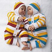 Работы для детей, ручной работы. Ярмарка Мастеров - ручная работа Детский комбинезон для новорожденных Веснушки. Handmade.