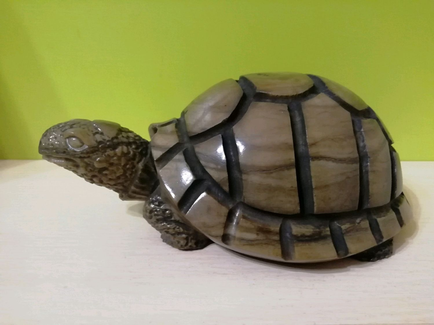 Turtle sculpture made of stone, Figurines, Horde,  Фото №1
