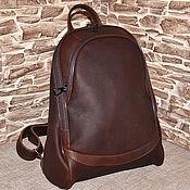 Сумки и аксессуары handmade. Livemaster - original item Model 146 genuine leather Backpack. Handmade.