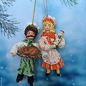 """Куклы и пупсы ручной работы. Ярмарка Мастеров - ручная работа Ватная игрушка """"Хозяйка таверны"""". Handmade."""