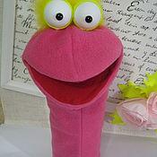 Куклы и игрушки ручной работы. Ярмарка Мастеров - ручная работа перчаточная кукла маппет птица. Handmade.